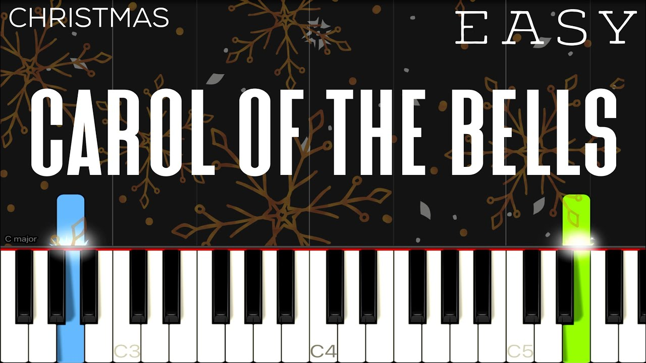 Download Christmas - Carol Of The Bells | EASY Piano Tutorial