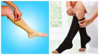 Компрессионные гольфы Zip Sox от варикоза обзор / Компрессионные носки