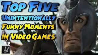 Top Five Unintentionally Funny Moments in Video Games