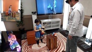 Holoportation: Microsoft Interactive 3D Technologies