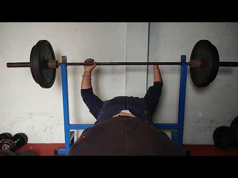 My student life 80kg only one hand in nadeem health club