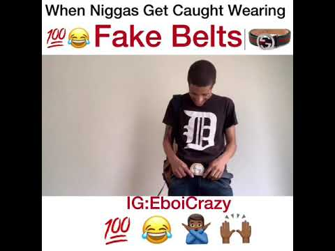 When Men Get Caught Wearing Fake Belts