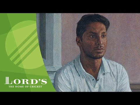 Kumar Sangakkara on his Lord's portrait