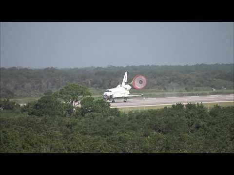 STS - 127 Landing Replay - TV Tower 1 (TV-11) - HD