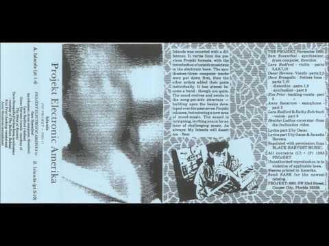 Projekt Electronic Amerika  - Islands (side B) 1985