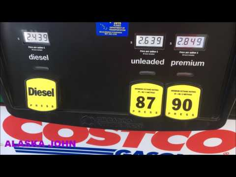 ALASKA GAS PRICES - Anchorage - May 12th 2017