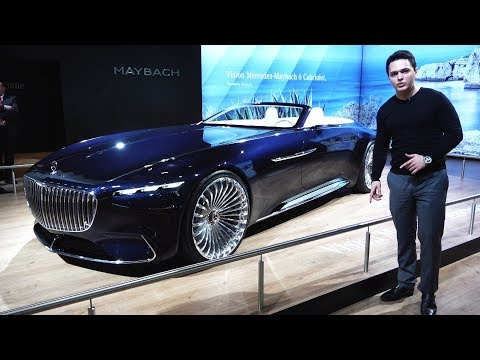 Mercedes Maybach 6 Cabriolet – NEW Full Review LUXURY Design Interior Exterior