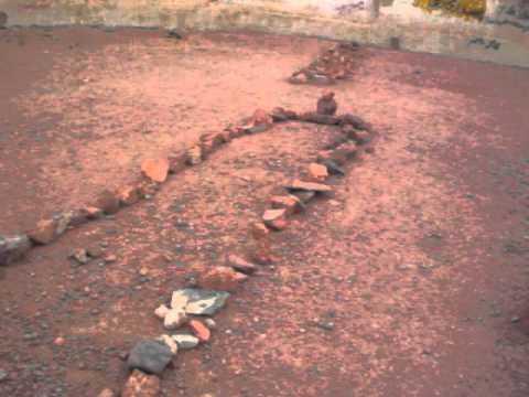Hatim Tai's grave near Hail, Saudi Arabia.