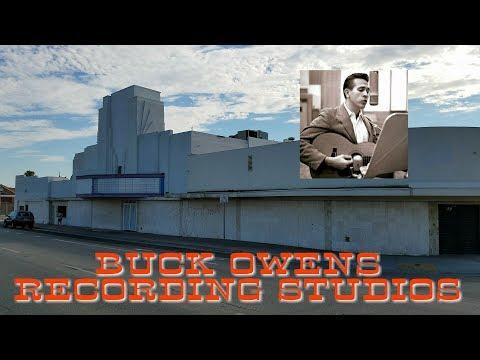 Historic Buck Owens Recording Studios - Bakersfield, California