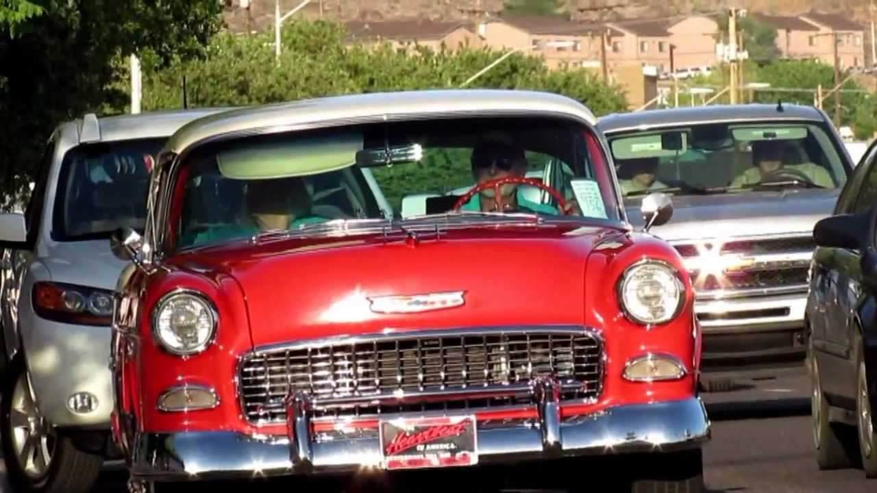 Old Vintage Classic Cars & Trucks, 25th Annual Fun Run - YouTube