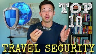 Travel Security Gear // TOP 10 ITEMS!