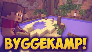 """Dansk Minecraft - Byggekamp - """"EN ØDE Ø!"""""""