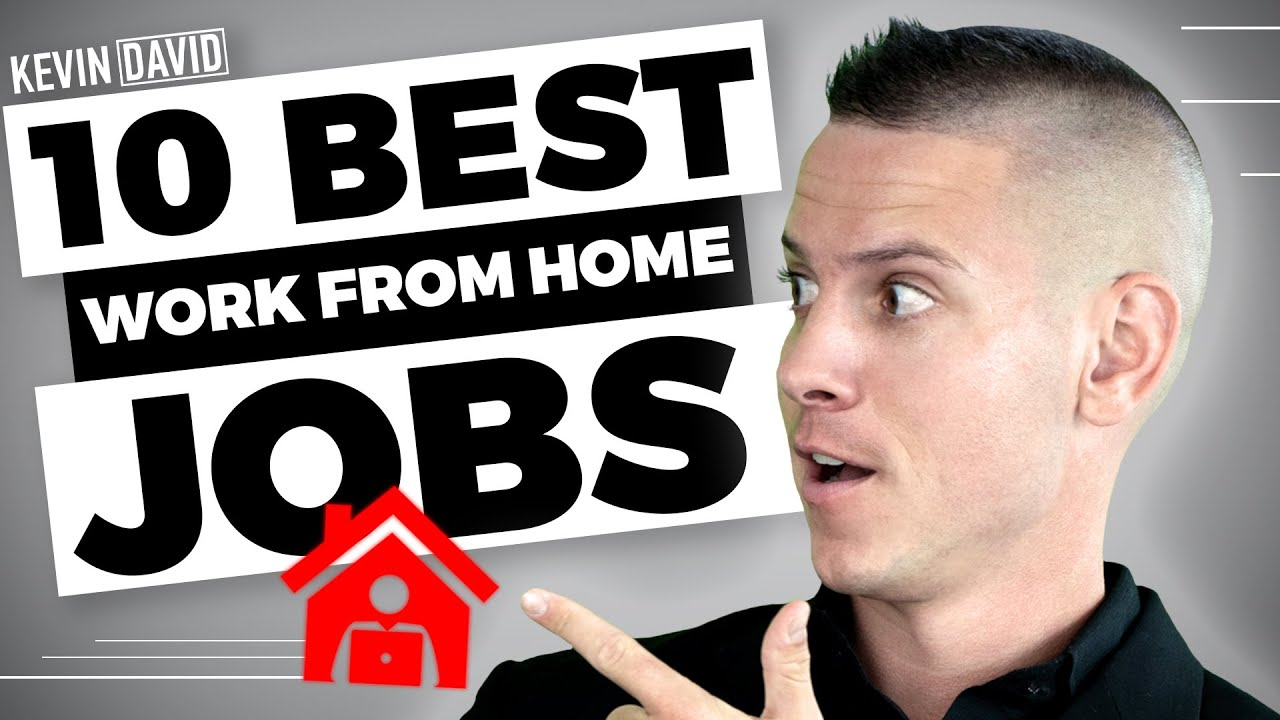 10 Work From Home Jobs that Pay $100/Day or More! (2019) #1