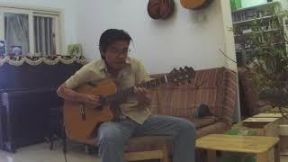 Chiều mưa biên giới - fingerstyle guitar solo