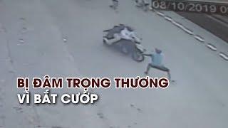 Lao ra đường bắt cướp, nam thanh niên bị đâm trọng thương