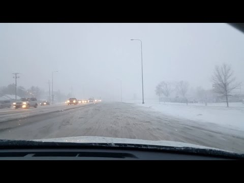 Нас завалило снегом штат South Dakota
