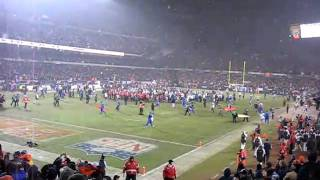 2006 NFC CHAMPIONS CHICAGO BEARS LAST SECONDS OF GAME!