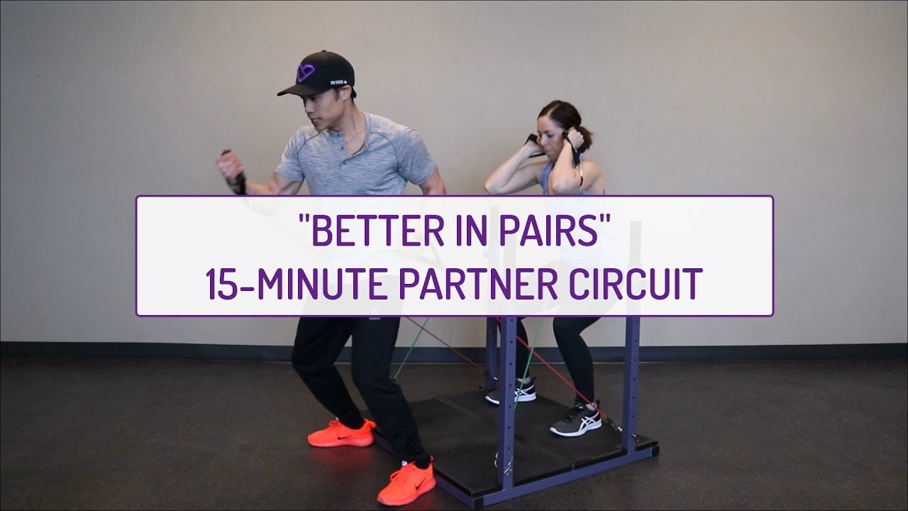 Better in Pairs | 15-Minute Partner Circuit | Evolution Training System