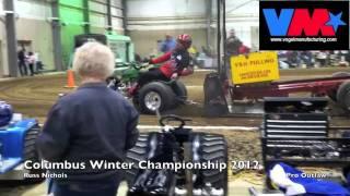Columbus Winter Championships 2012- Russ Nichols on Wicked Deere