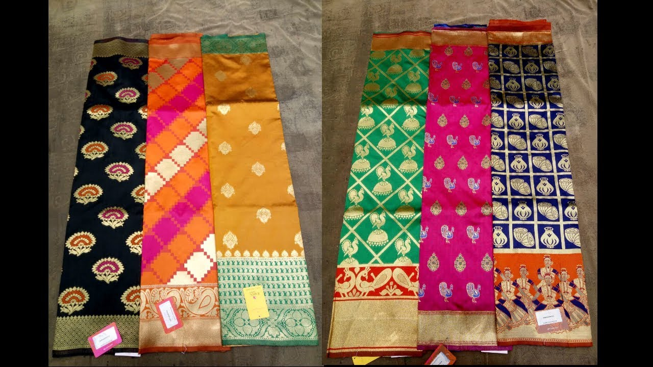 10f8819abe Top 10 Banarasi Silk Sarees With Price Below ₹ 3500/- - YouTube