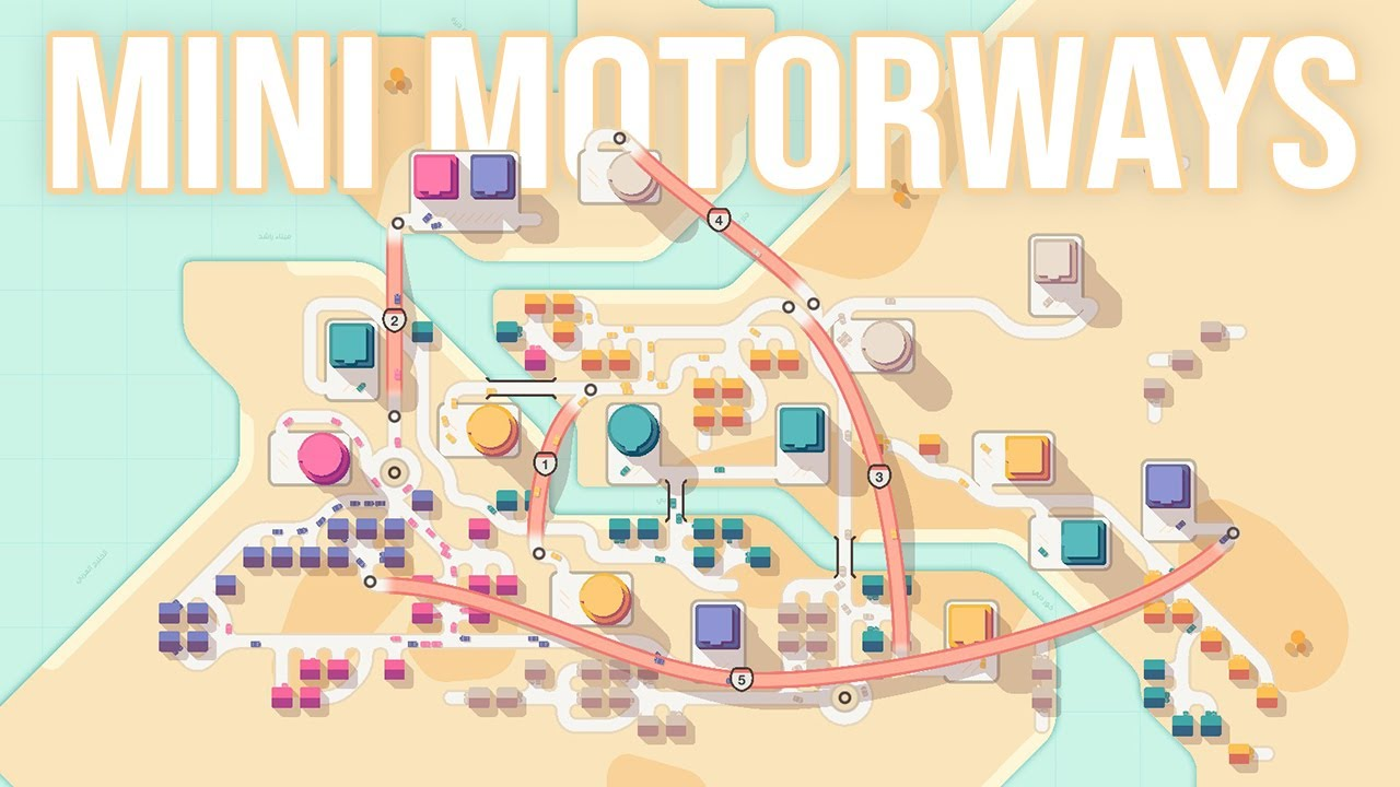 THIS GAME IS SO SATISFYING but also stressful....Mini Motorways