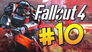 Прохождение Fallout 4 - Армия Братства Стали Полет на Вертолете 10 60 FPS