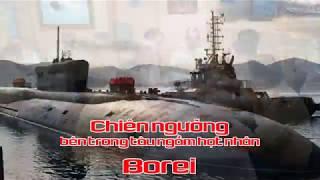 Chiên ngưỡng bên trong tàu ngầm hạt nhân Borei