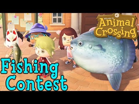 Animal Crossing Fishing Contest | Who Can Catch The Coolest Fish?