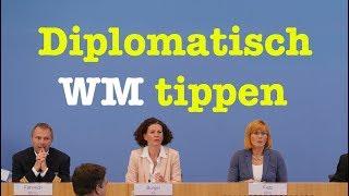 8. Juni 2018 - Bundespressekonferenz - RegPK