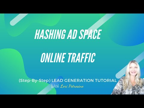 Hashing Ad Space Lead Generation Tutorial