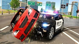 Police Car Chase Cop Simulator Android Gameplay