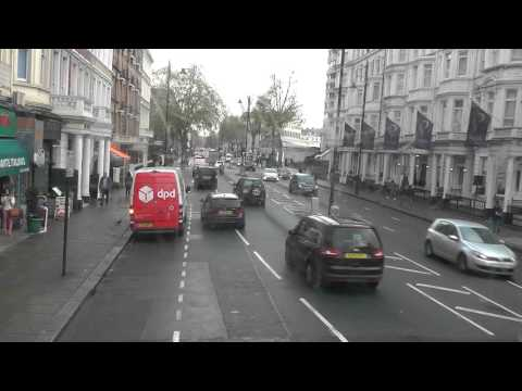NO. 74 BUS ROUTE FROM PUTNEY BRIDGE ROAD TO BAKER STR STN  -  PART 2