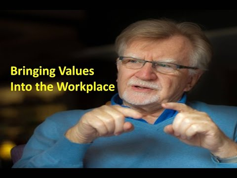 Bringing Values into the Workplace, Richard Barrett