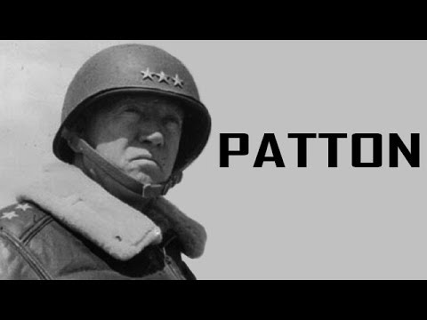 General George S. Patton - Commander of the US Third Army | Biography Documentary