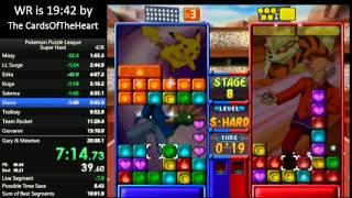 Pokémon Puzzle League Super Hard Speedrun in 17:41