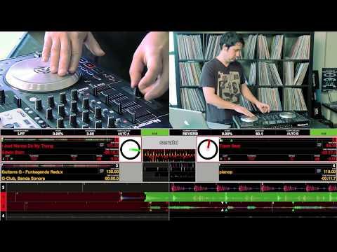 Numark NS6: Tips & Tricks Scratching & Fader Setup