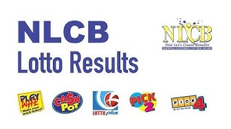 NLCB Lotto Results Today (March 23, 2020 Monday) - Play Whe Results