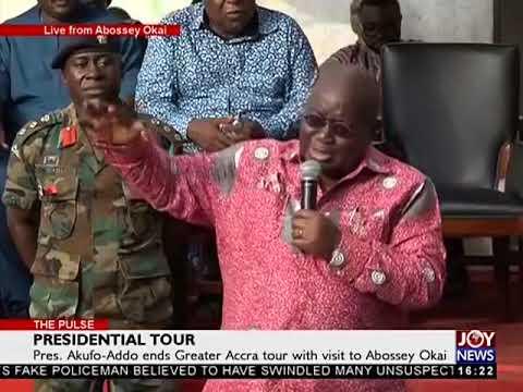 Presidential Tour - The Pulse on JoyNews (10-11-17)