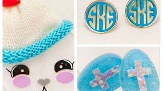 Punch Place Plus Earrings, Bunnies, Acrylic Blanks And More