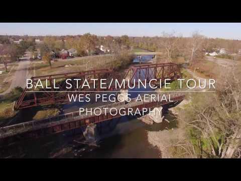 Ball State / Muncie Drone Tour