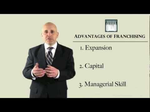 Advantages of Franchising