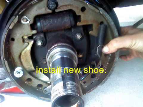 1989 Toyota Dually Rv Drum Brakes How I Did It Youtube