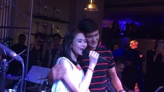 """Sarah Geronimo sings """"Thinking Out Loud"""" to Matteo Guidicelli"""