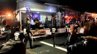 デコトラ 黒潮船団 イベントにて 茨城ジャンクスさんによる歌唱・ダンス...