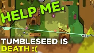 Russ Cries While Playing TumbleSeed