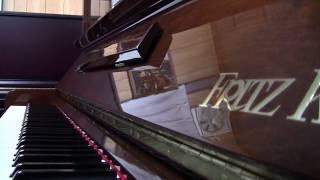 フリッツクーラーピアノ 特製50号 中古ピアノ ピアノパーク