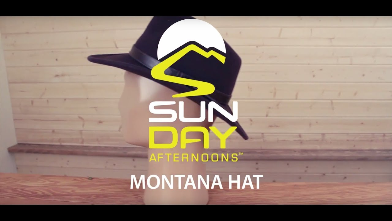 Montana Hat - YouTube bf3958356cc5