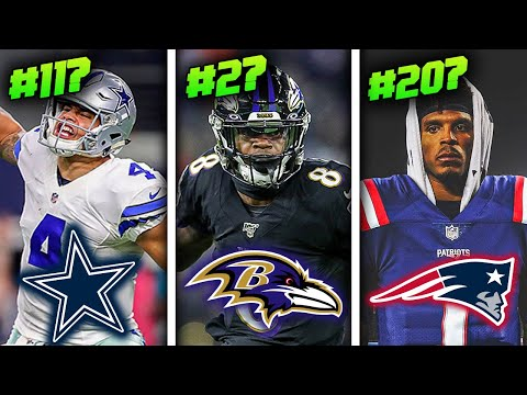 Ranking all 32 NFL Starting Quarterbacks of 2020 from WORST to FIRST