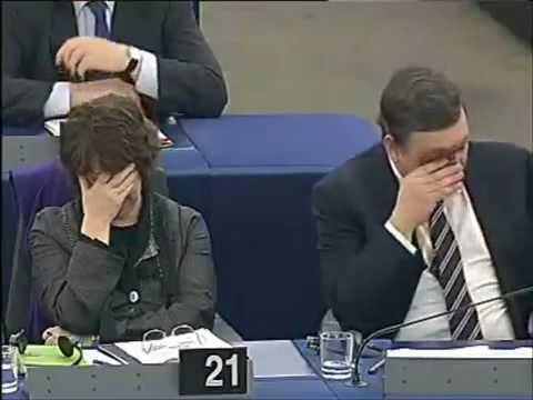 UKIP Nigel Farage MEP - European Union and its Communist roots - Feb 2010