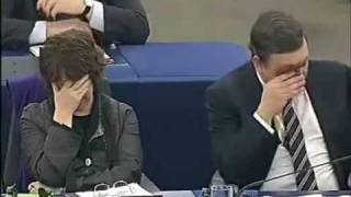 UKIP Nigel Farage MEP - European Union and its Communist roots - Feb 2010